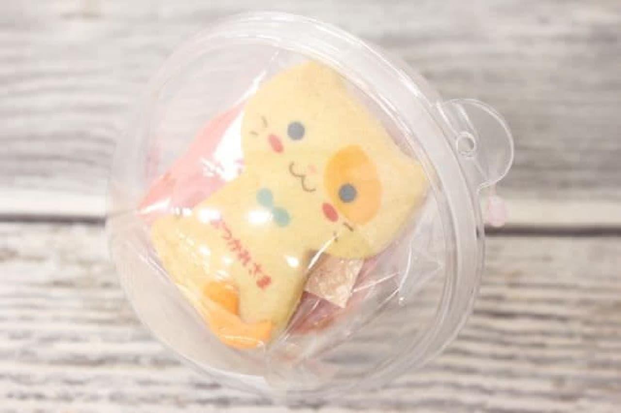 「ブチネコクッキーカプセル おつかれさま」は、カプセルの中にクッキーが入ったセット