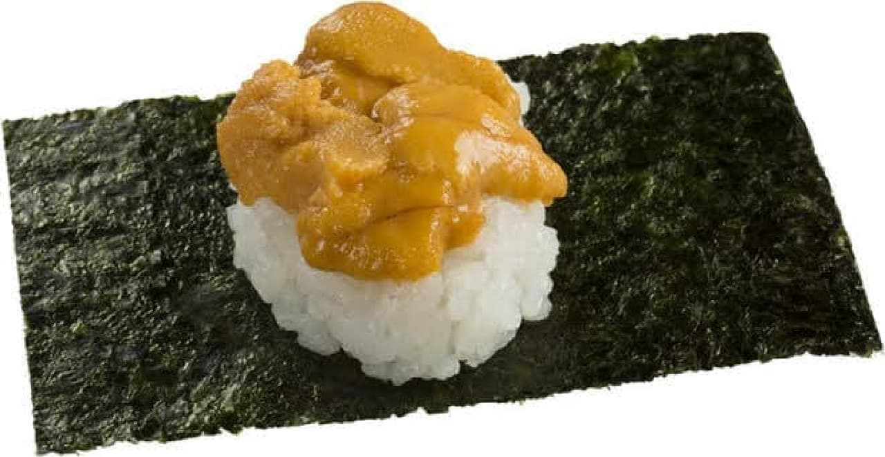 濃厚うに包み はうにがたっぷりと使用された寿司