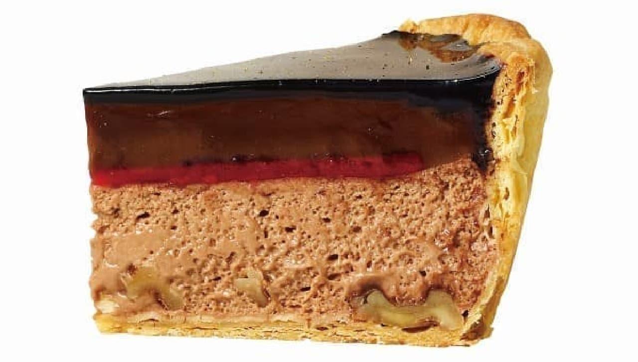 焼きたてチーズタルト専門店PABLO「ノエルチョコチーズタルト」
