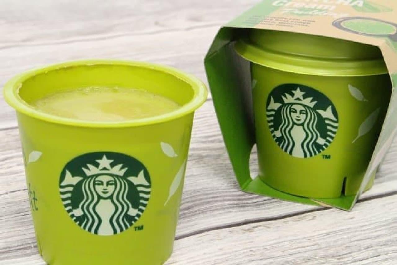 スターバックス「抹茶クリームプリン」