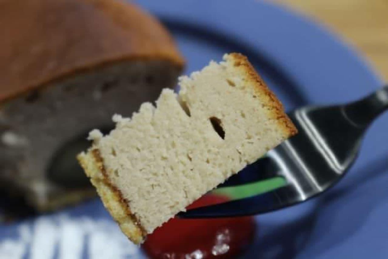 ほっこりマロンのベイクドチーズケーキは栗入りのチーズケーキ