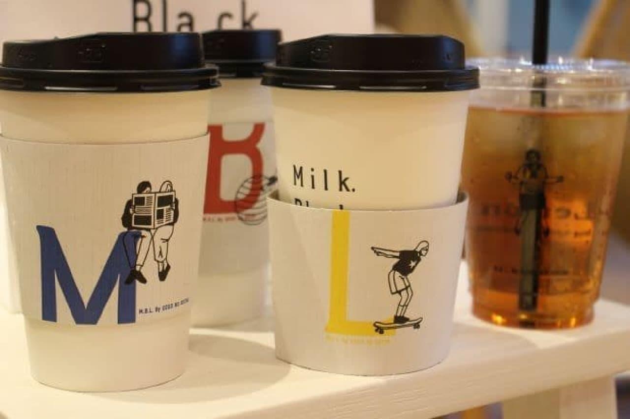「Milk.Black.Lemon.」は紅茶と休息の新しいカタチを体験できる新しいスタイルのショップ