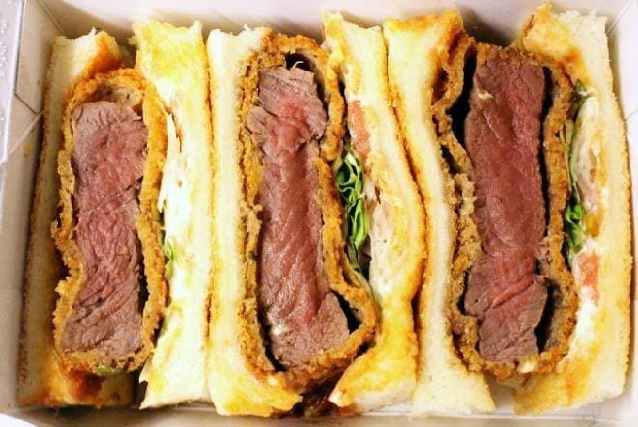 京都で予約の絶えない名店「肉専科 はふう」の「カツサンド」