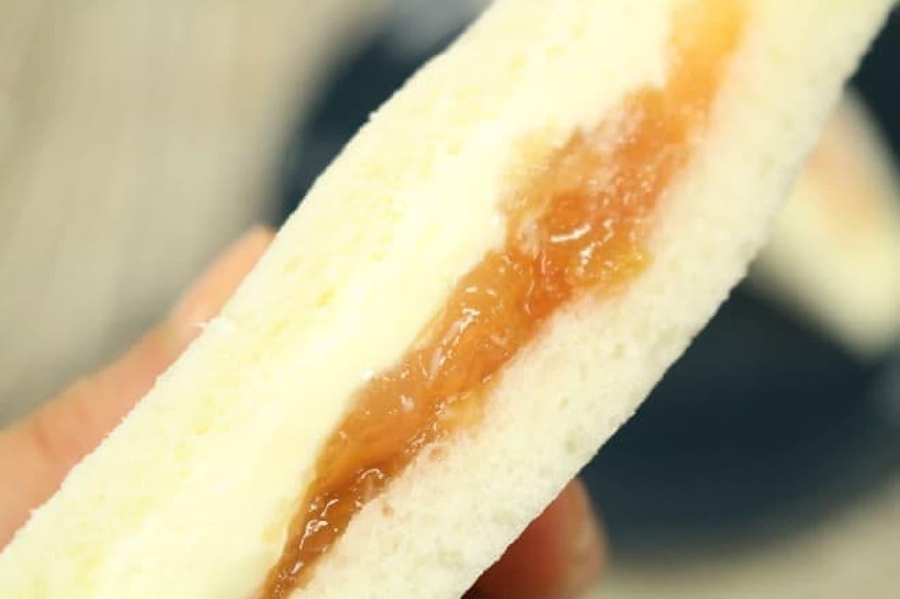 メルヘン りんごサンド