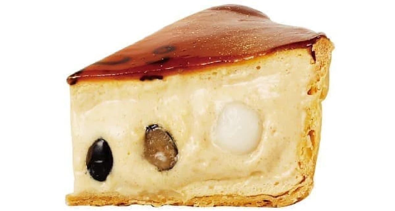 焼きたてチーズタルト専門店PABLO「焼きたて黒豆きなこチーズタルト」