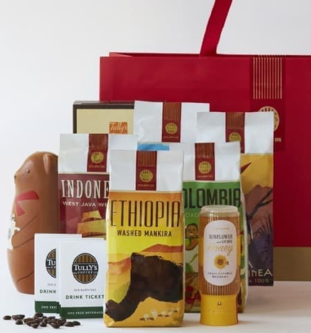 タリーズコーヒー「2018 HAPPY BAG(ハッピーバッグ)」