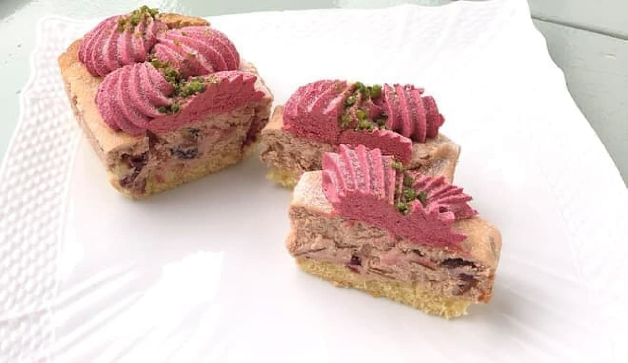 4種ベリーのプレミアムチーズケーキ