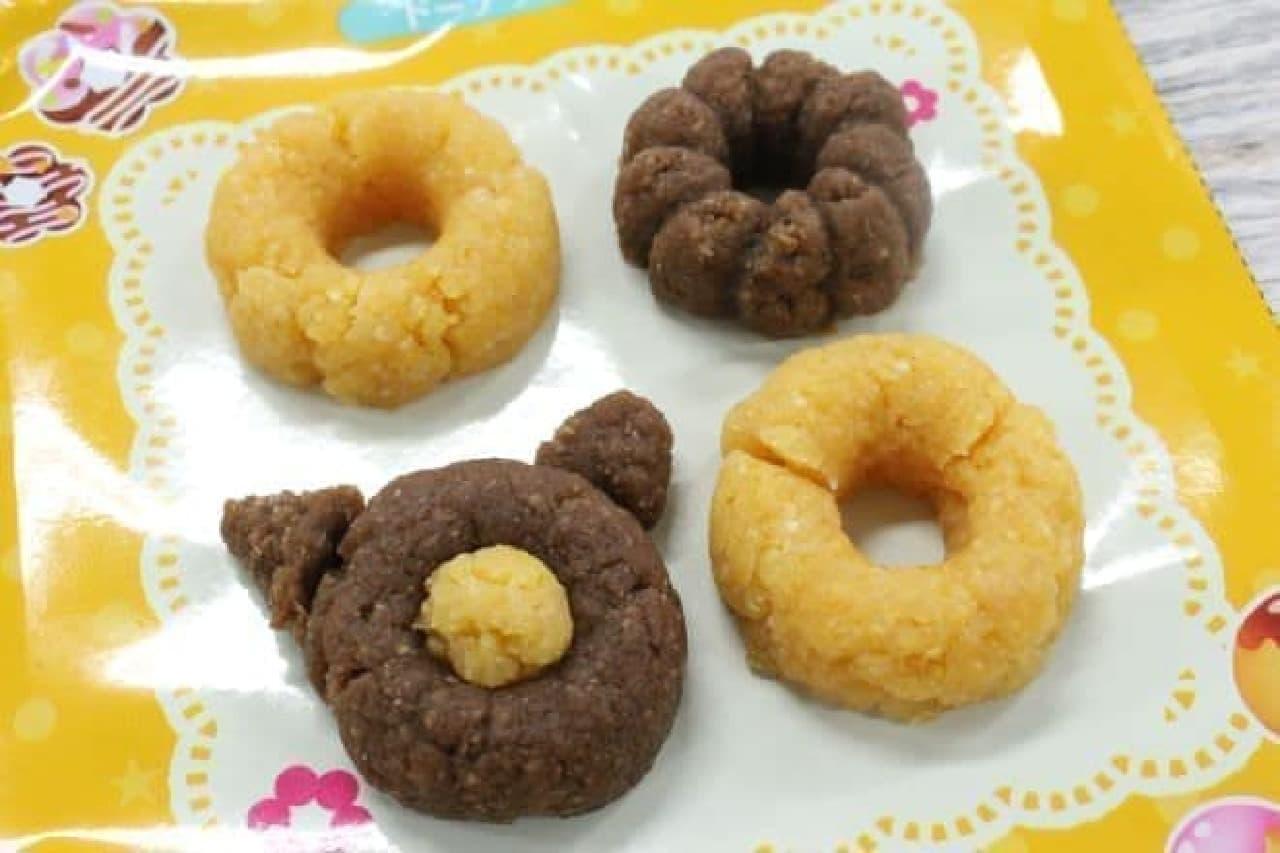 本物そっくりのドーナツが作れる「ドーナツ」