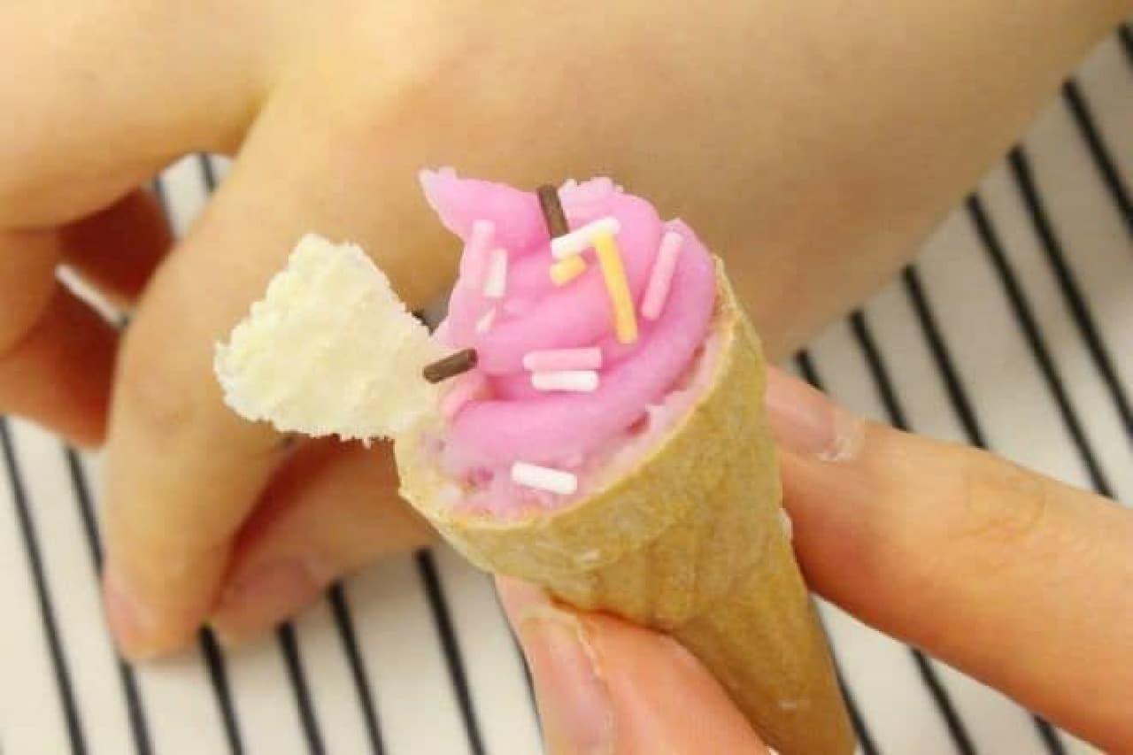 本物そっくりのスイーツ作りが楽しめる「たのしいケーキやさん」