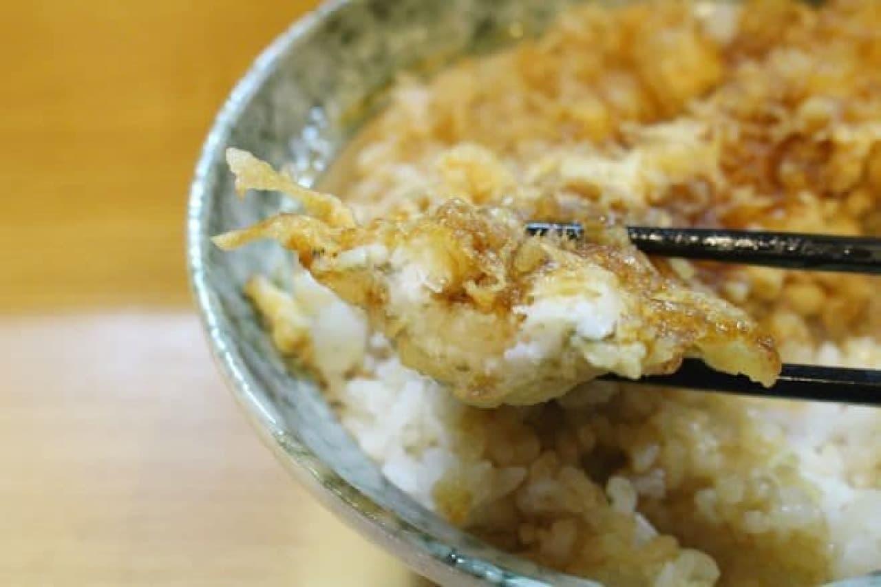 神保町「天麩羅 はちまき」の「穴子海老天丼」