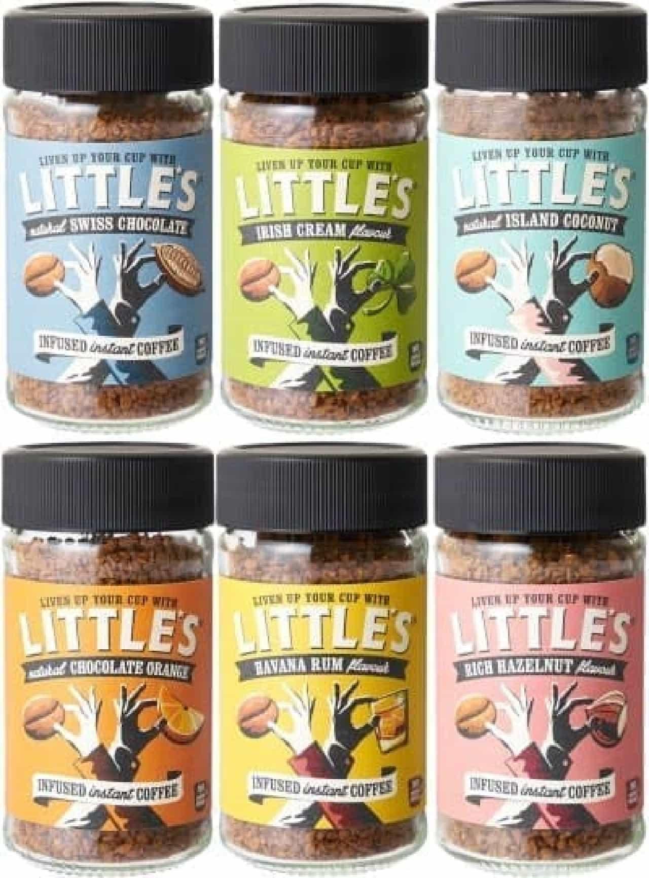イギリス産のインスタントフレーバーコーヒー「LITTLE'S(リトルズ)」