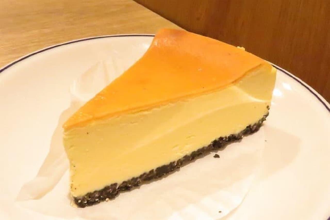 エクセルシオールカフェ「ニューヨークチーズケーキ」