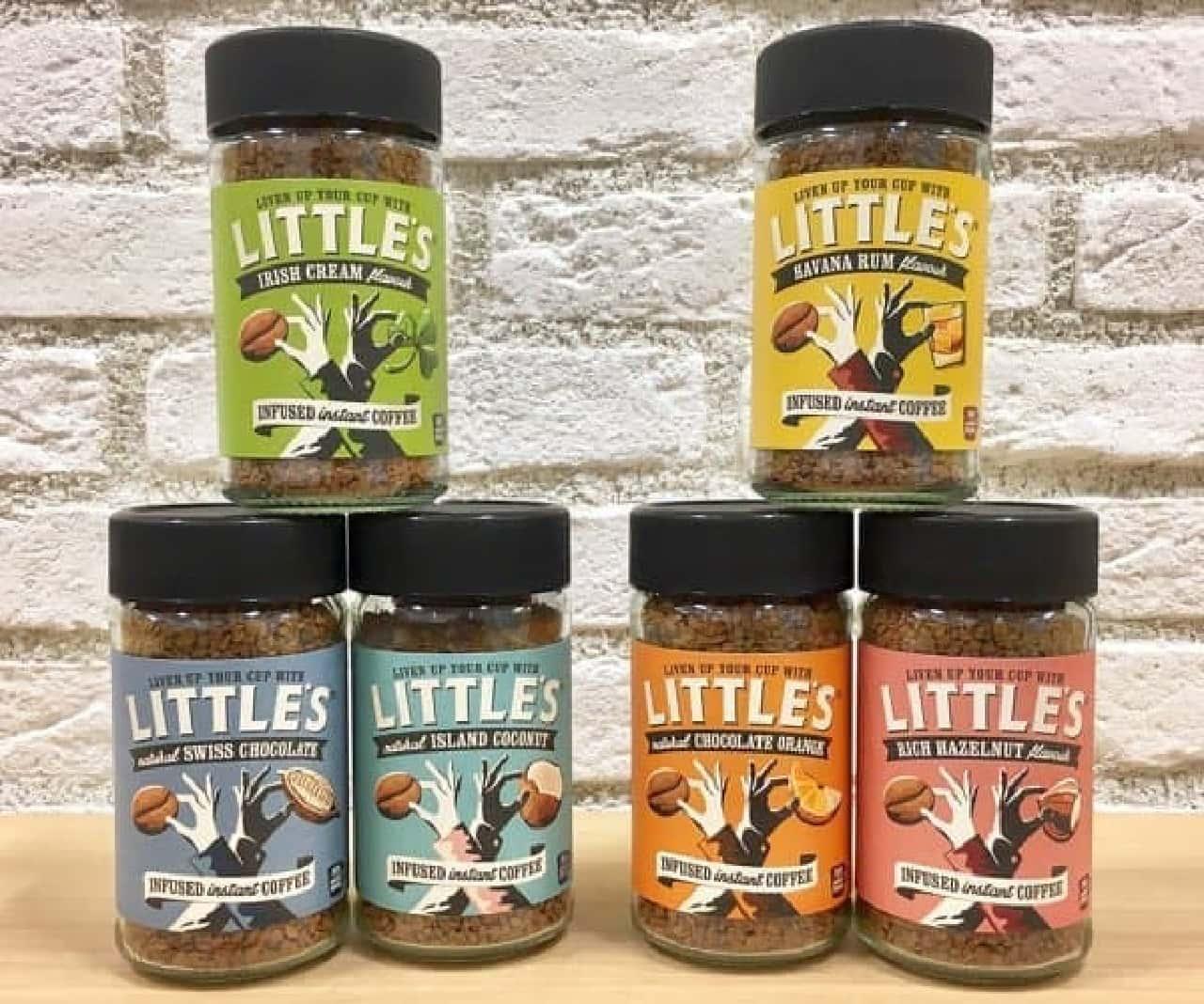プラザにイギリス産のインスタントフレーバーコーヒー「LITTLE'S(リトルズ)」
