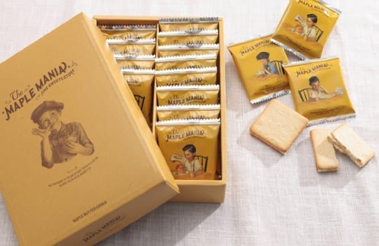 ザ・メープルマニア「メープルバタークッキー」