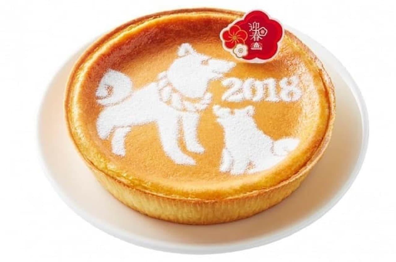 モロゾフ「迎春 デンマーククリームチーズケーキ(戌の親子)」