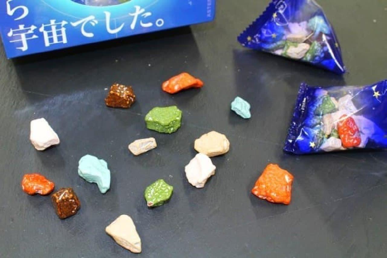 まるで惑星みたいな「TeNQ 小惑星チョコレート」