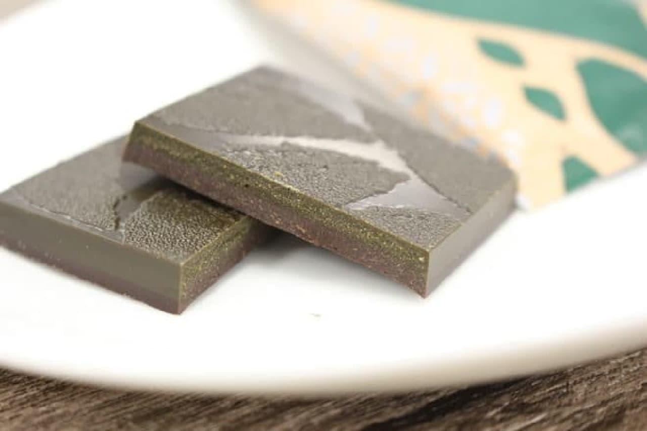 大人気「明治 ザ・チョコレート」シリーズの「深遠なる旨味抹茶」