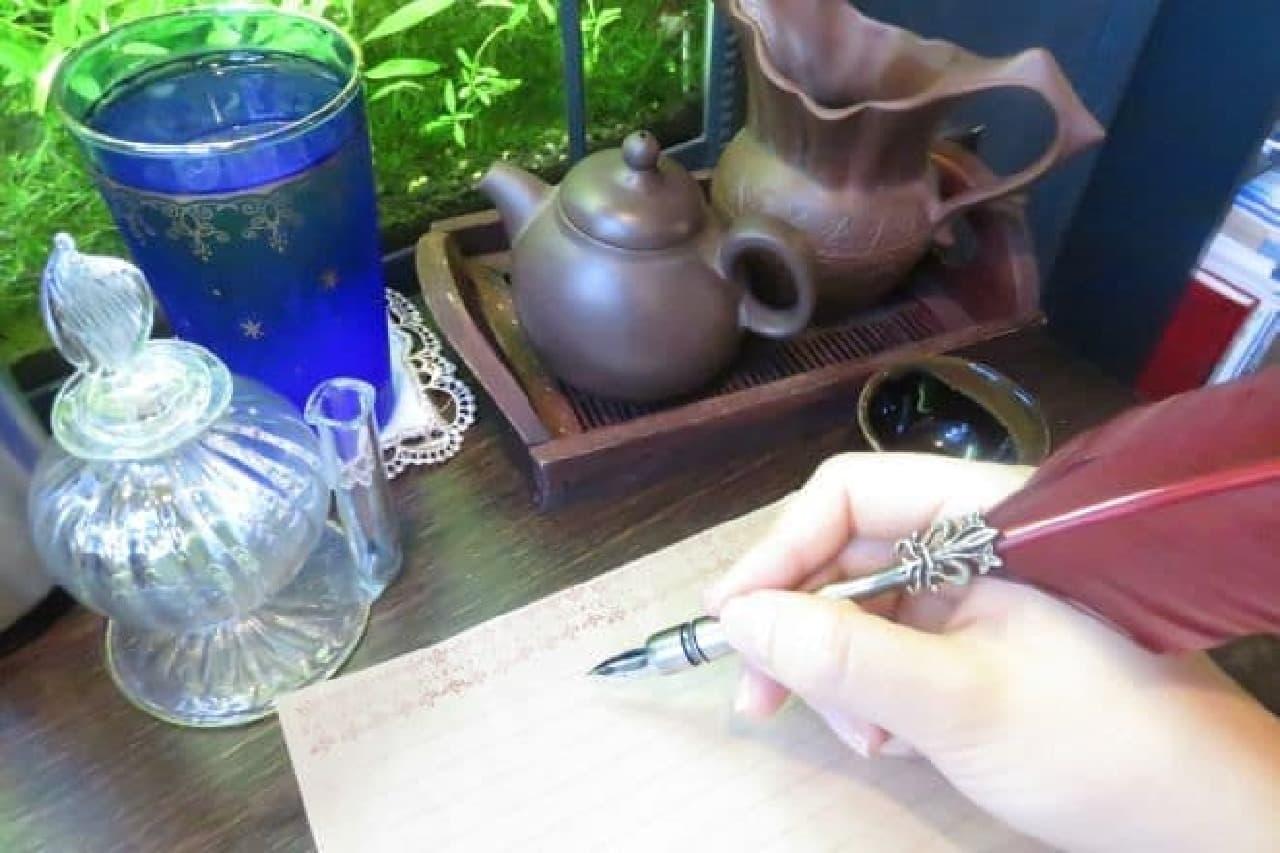高円寺にひっそりと構える「アール座読書館」のお手紙セット