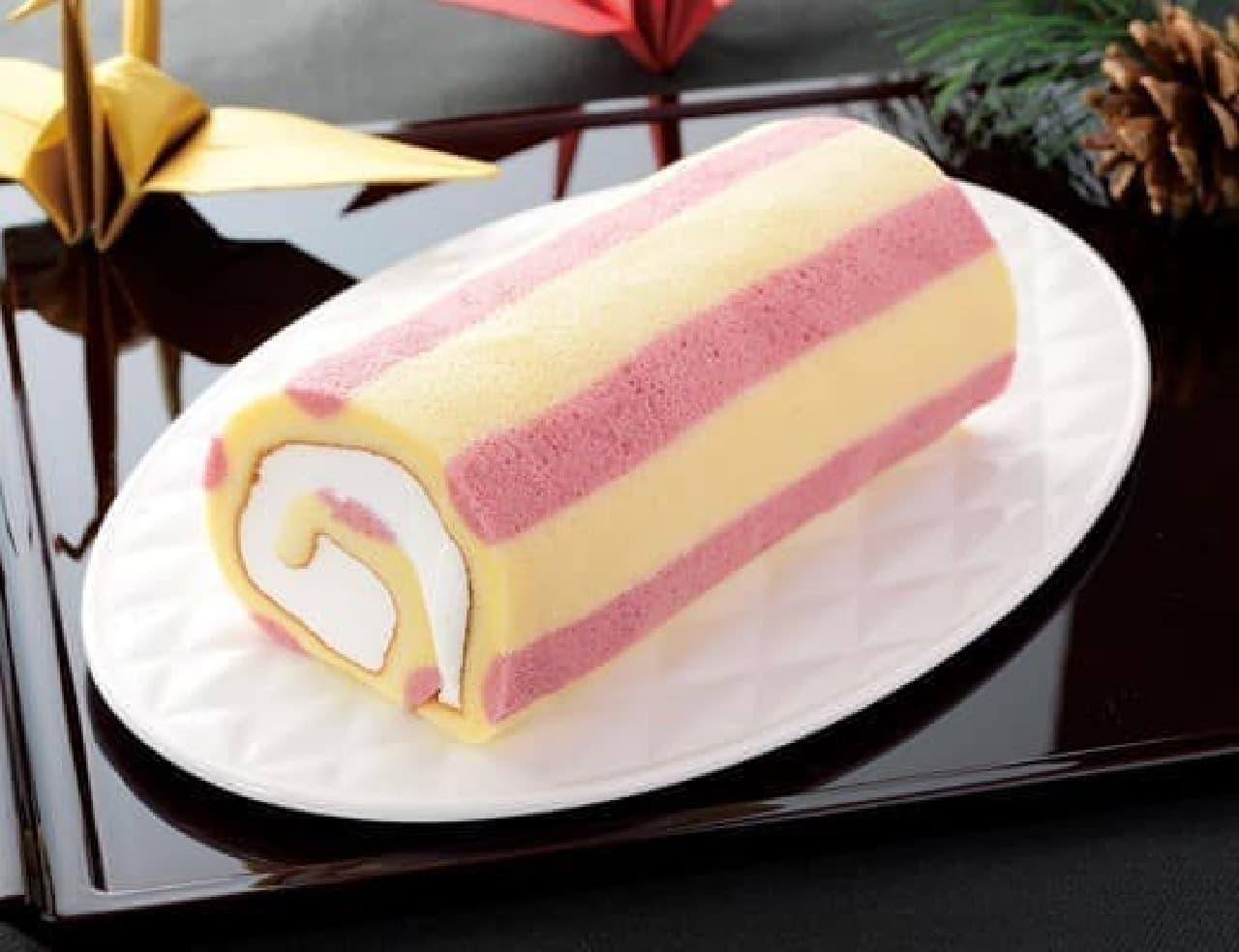 プレミアム紅白ロールケーキ
