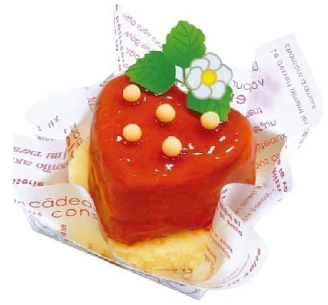 不二家の「苺みたいなケーキ」「苺フェア」