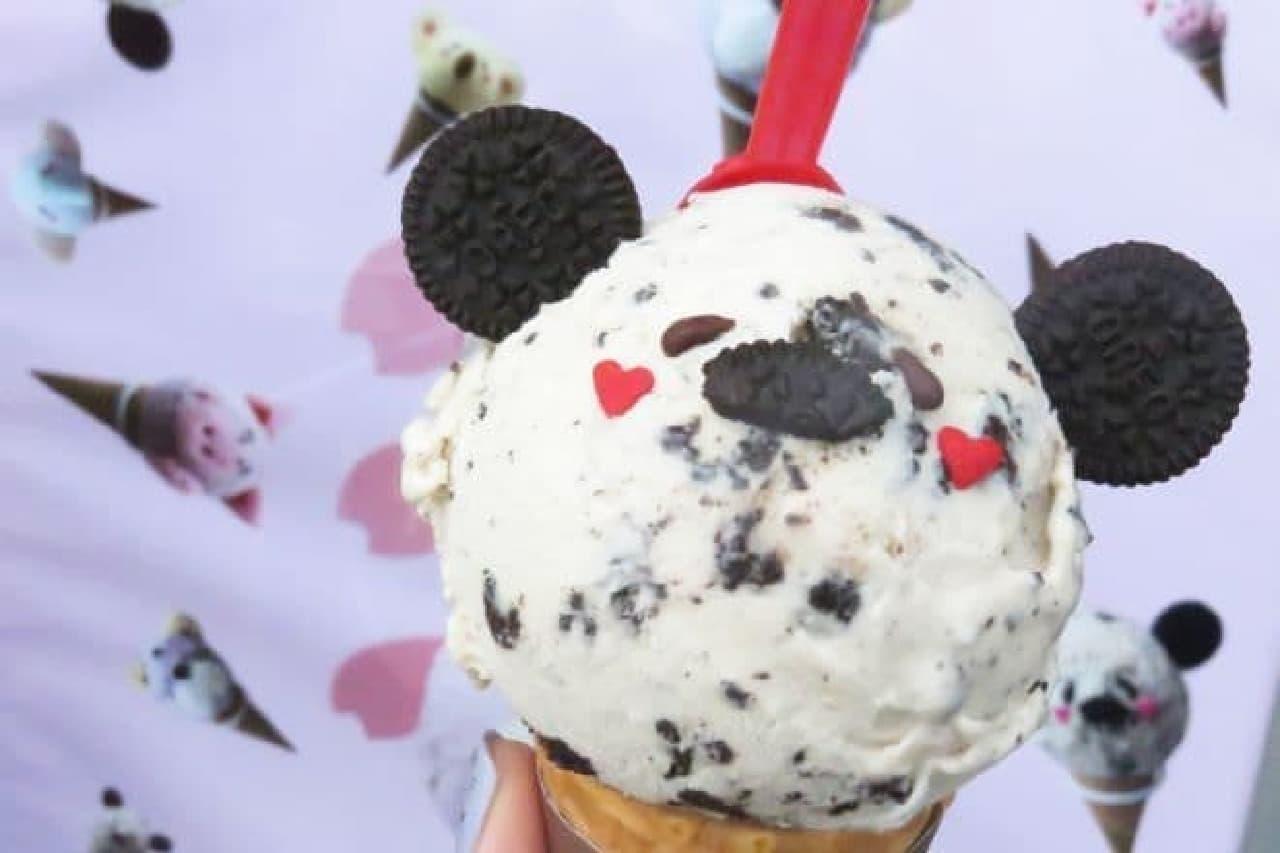 原宿「どうぶつえん」パンダのアイスクリーム