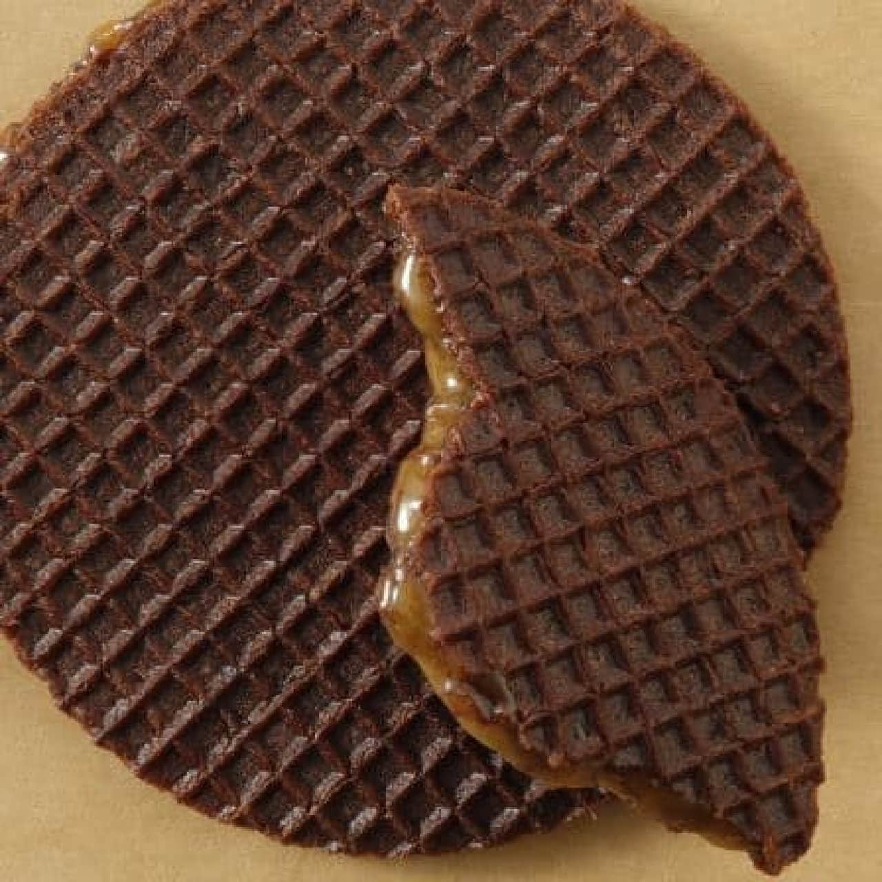 スターバックス「チョコレートキャラメルワッフル」