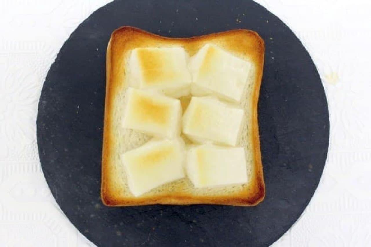 余ったお餅で作る「お餅トースト」