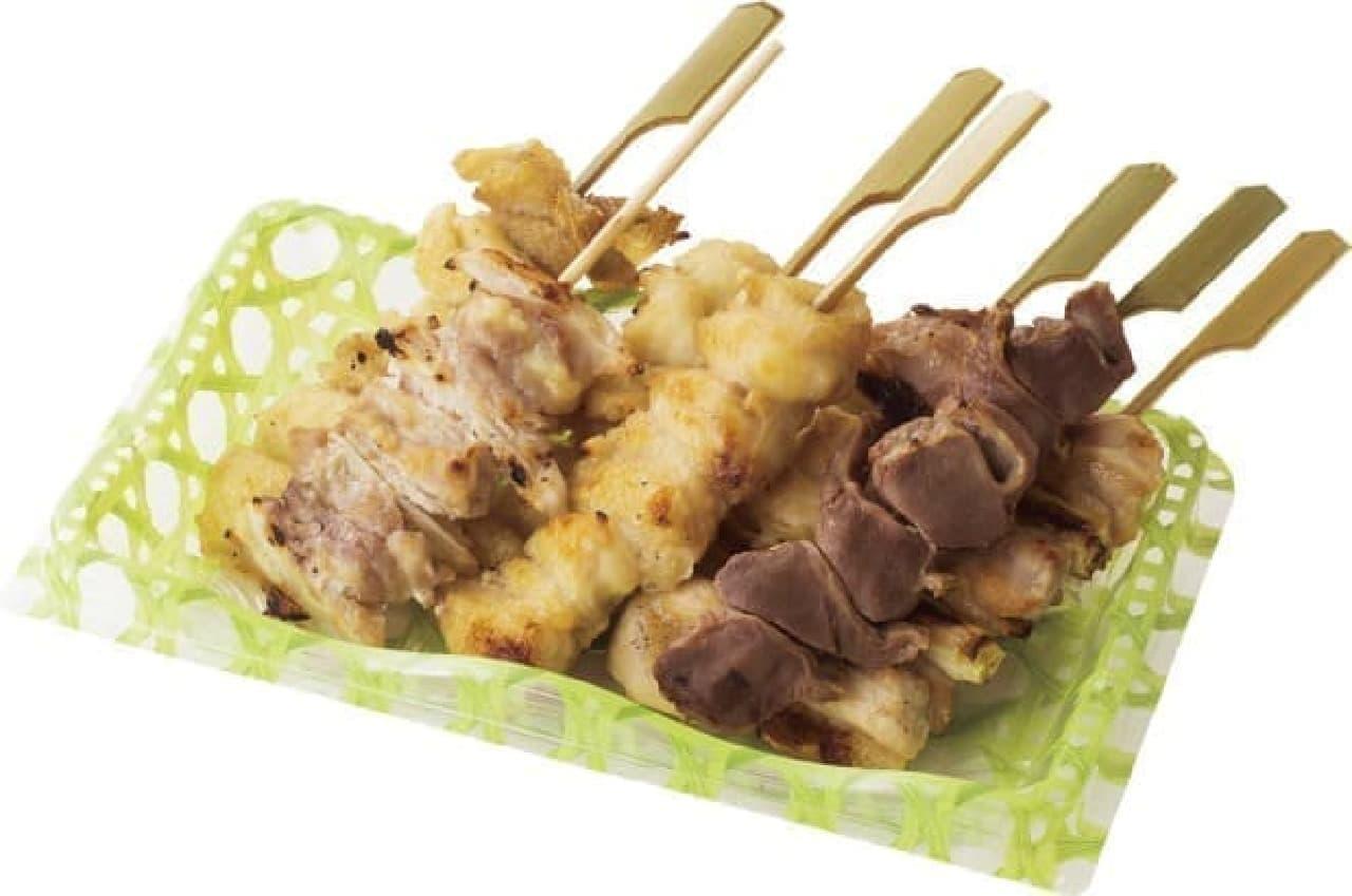 鳥麻「タムラ料理長 特製焼き鳥の盛り合わせ」