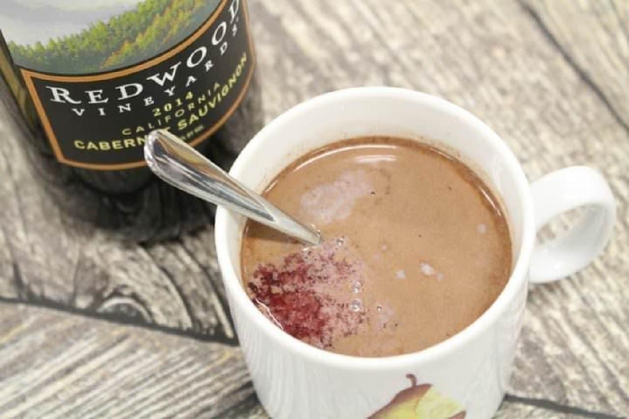 ホットチョコレートワイン