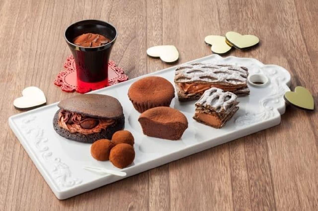 セブン-イレブン「チョコレートスイーツフェア」商品