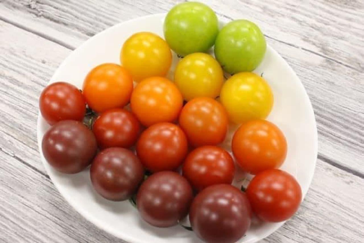 須藤物産が販売している「jewels(ジュエルズ)」というフルーツトマト
