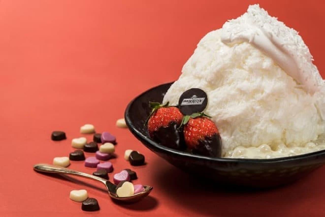 アイスモンスター「ホワイトチョコレートかき氷」