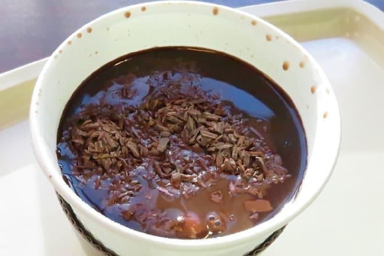 ベローチェの「ホットチョコレートwithチョコボール」