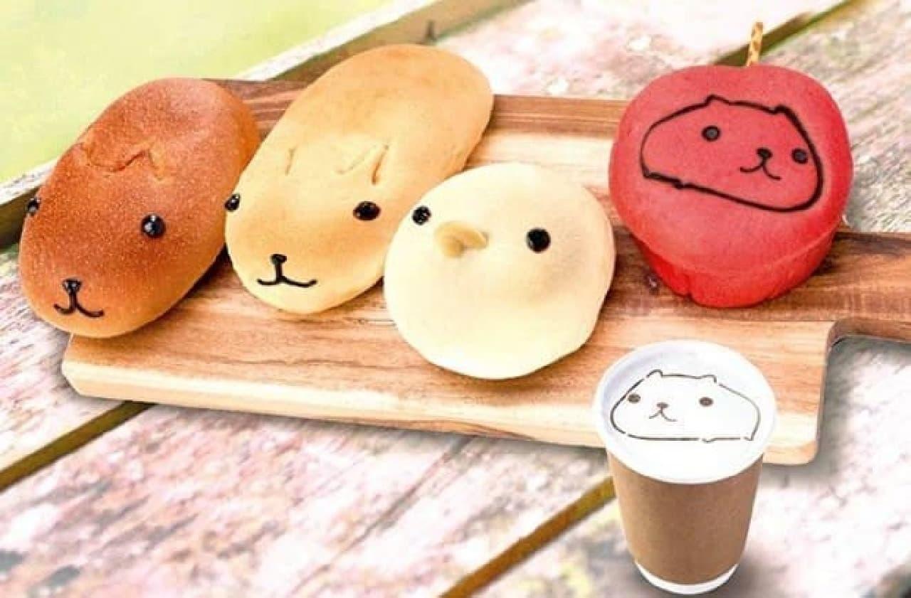 ベーカリーカフェ キャラブレッド 吉祥寺店(東京) カピバラさんパン