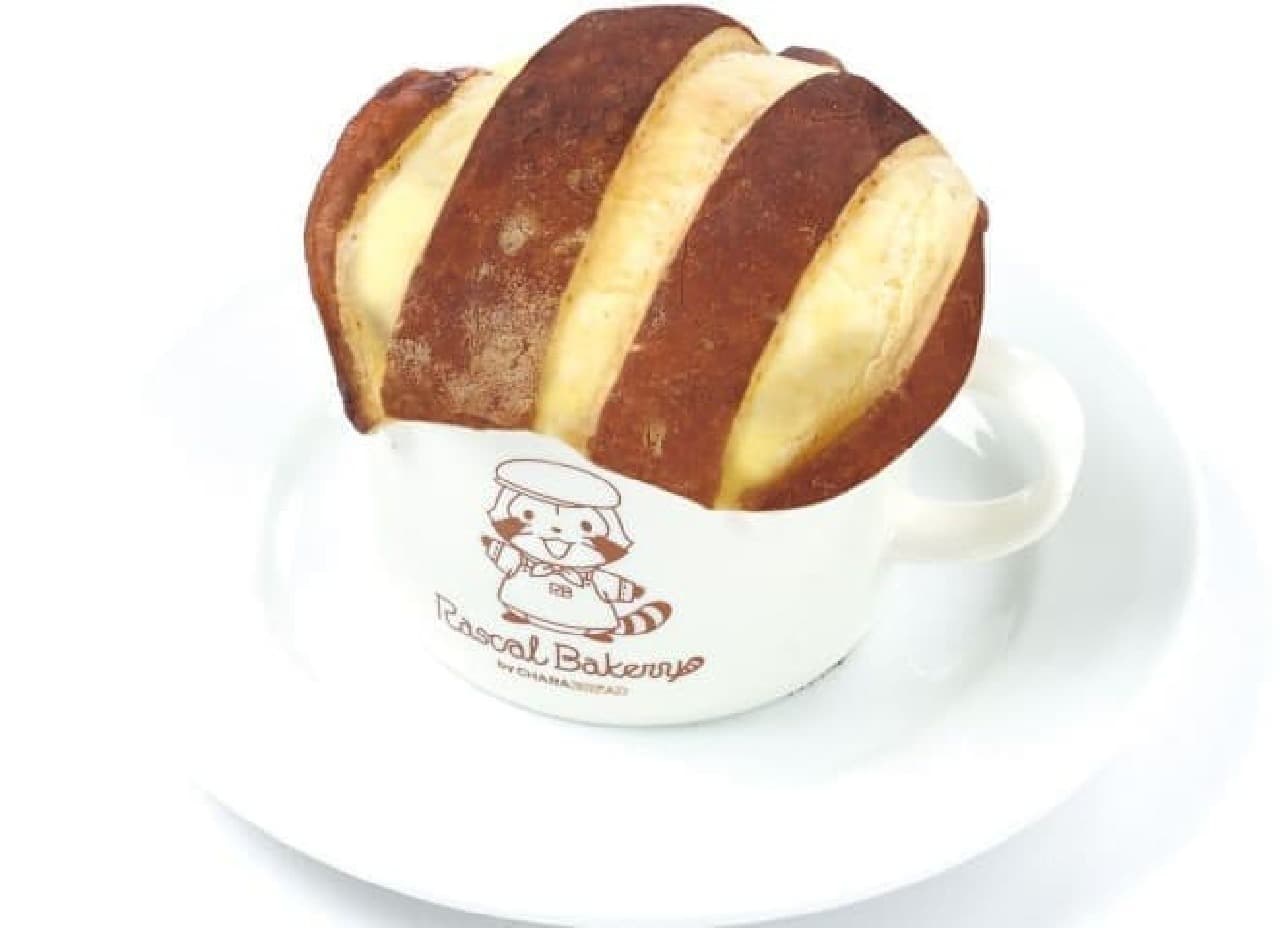 ベーカリーカフェ キャラブレッド ららぽーとEXPOCITY店(大阪) 「ラスカルのしっぽシチューパイ」