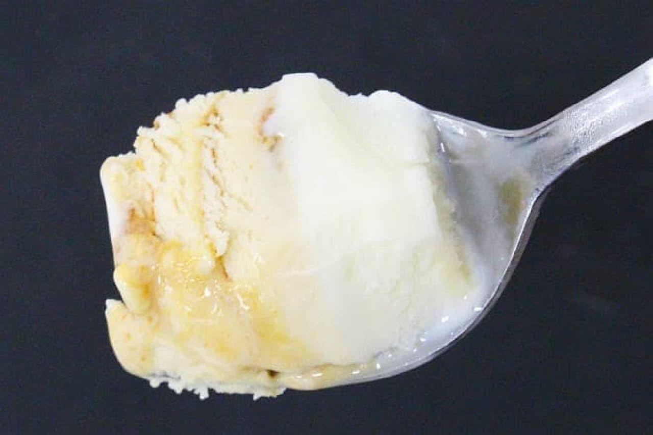 ローソン限定「濃厚クリームチーズアイス きなこ黒みつ」