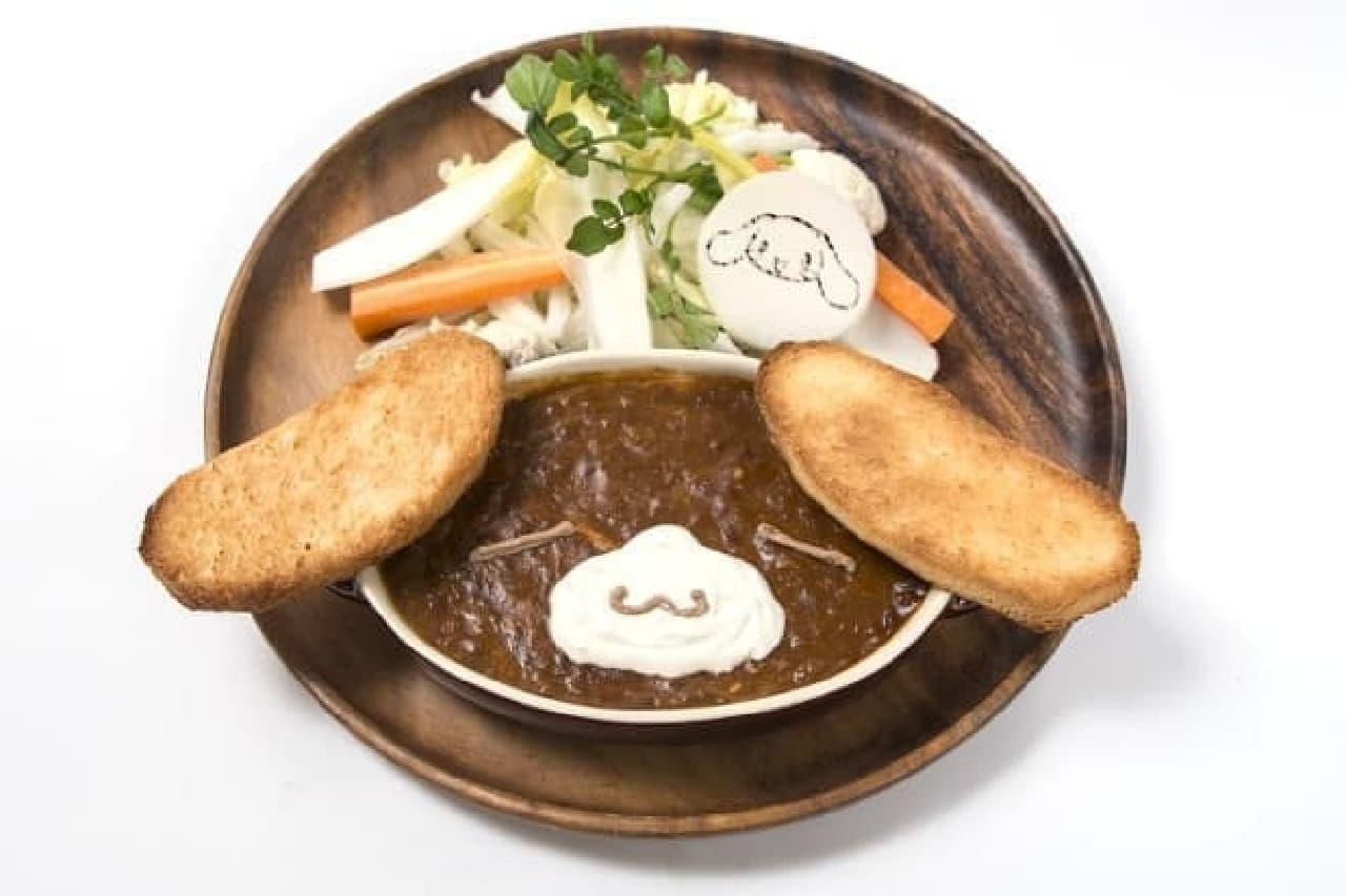 シナモロールカフェ「カプチーノのお昼寝ビーフシチュー」