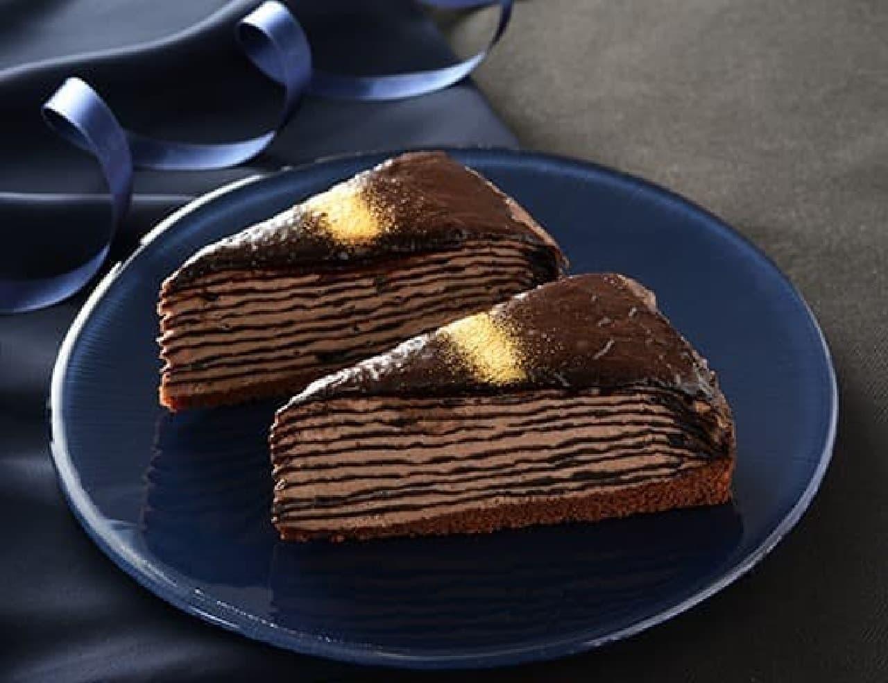ローソン「生チョコミルクレープ」