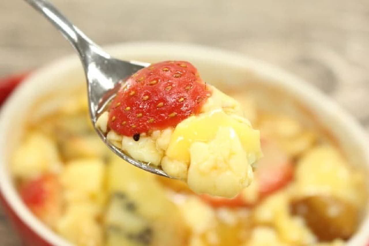 フルーツグラタンのレシピ