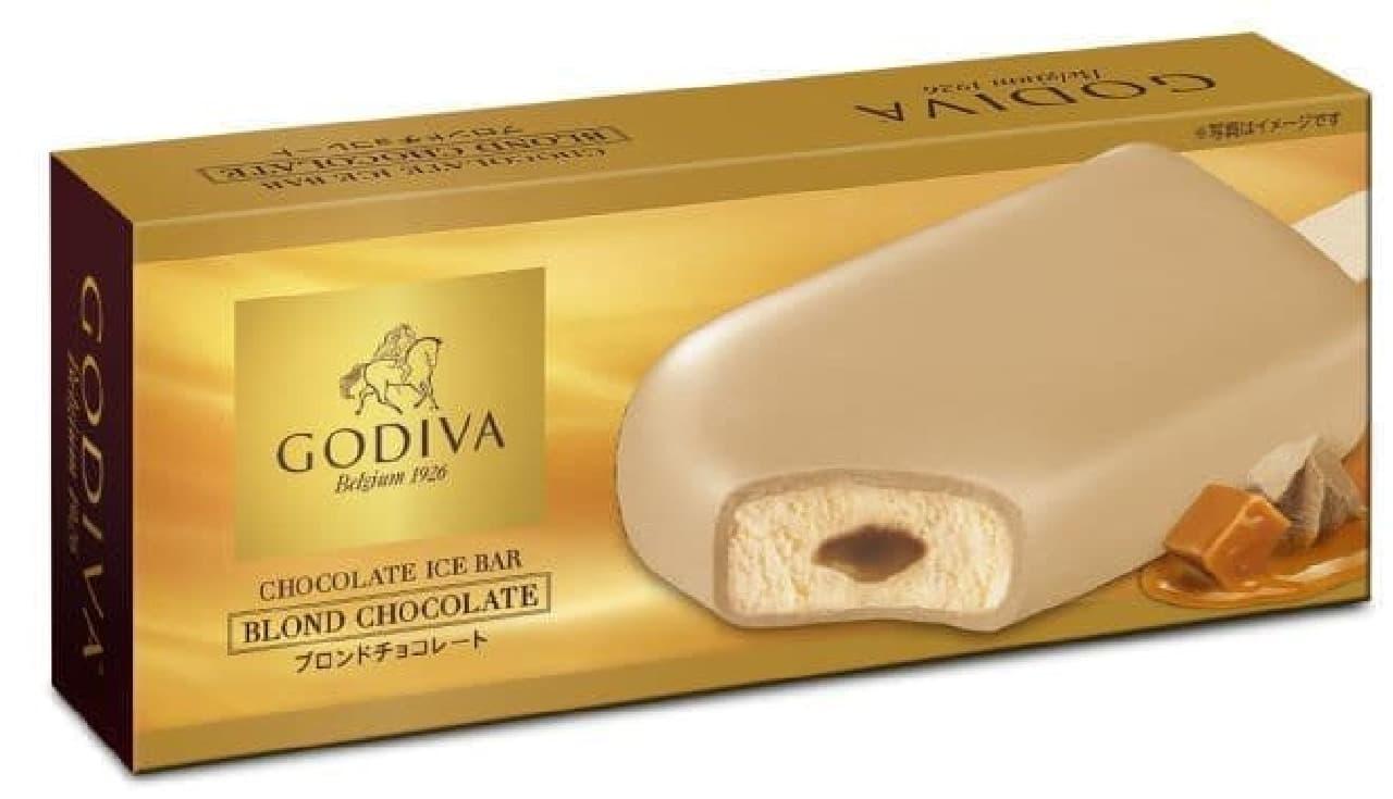 ゴディバ チョコレートアイスバー ブロンドチョコレートはブロンドチョコレートが使用されたアイスバー