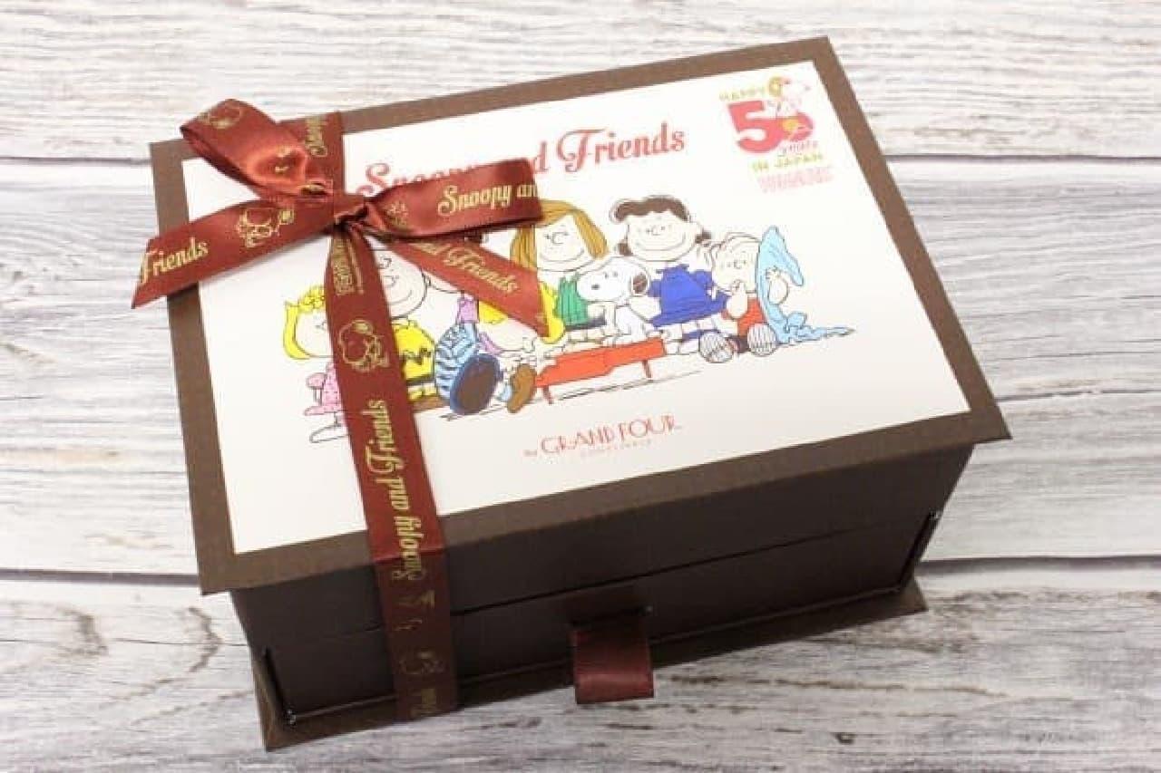 スヌーピー PEANUTS チョコレート 50周年 スペシャルアソート ボックス