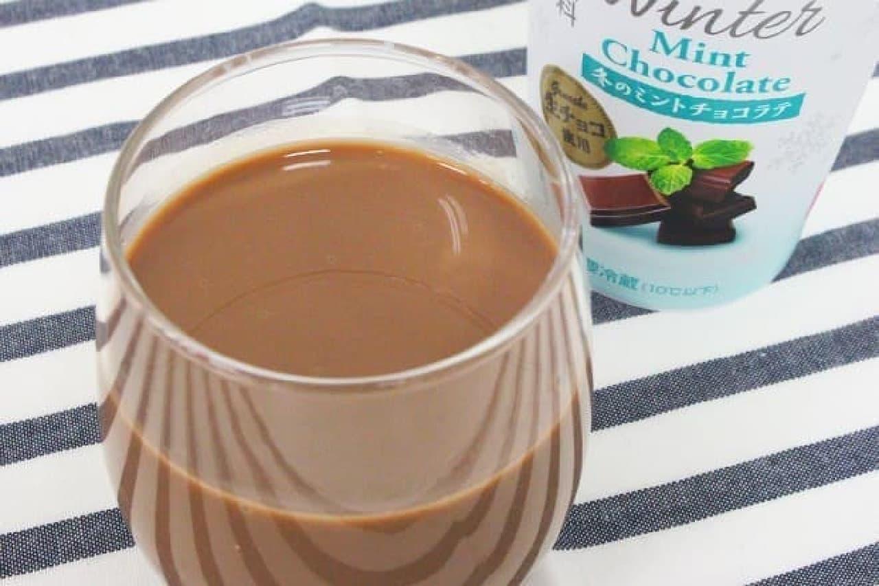 DOUTOR 冬のミントチョコラテ