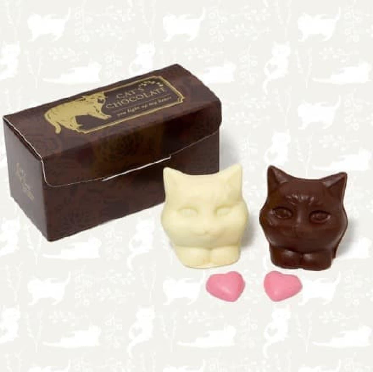 アフタヌーンティー・ティールーム「キャッツチョコレート」