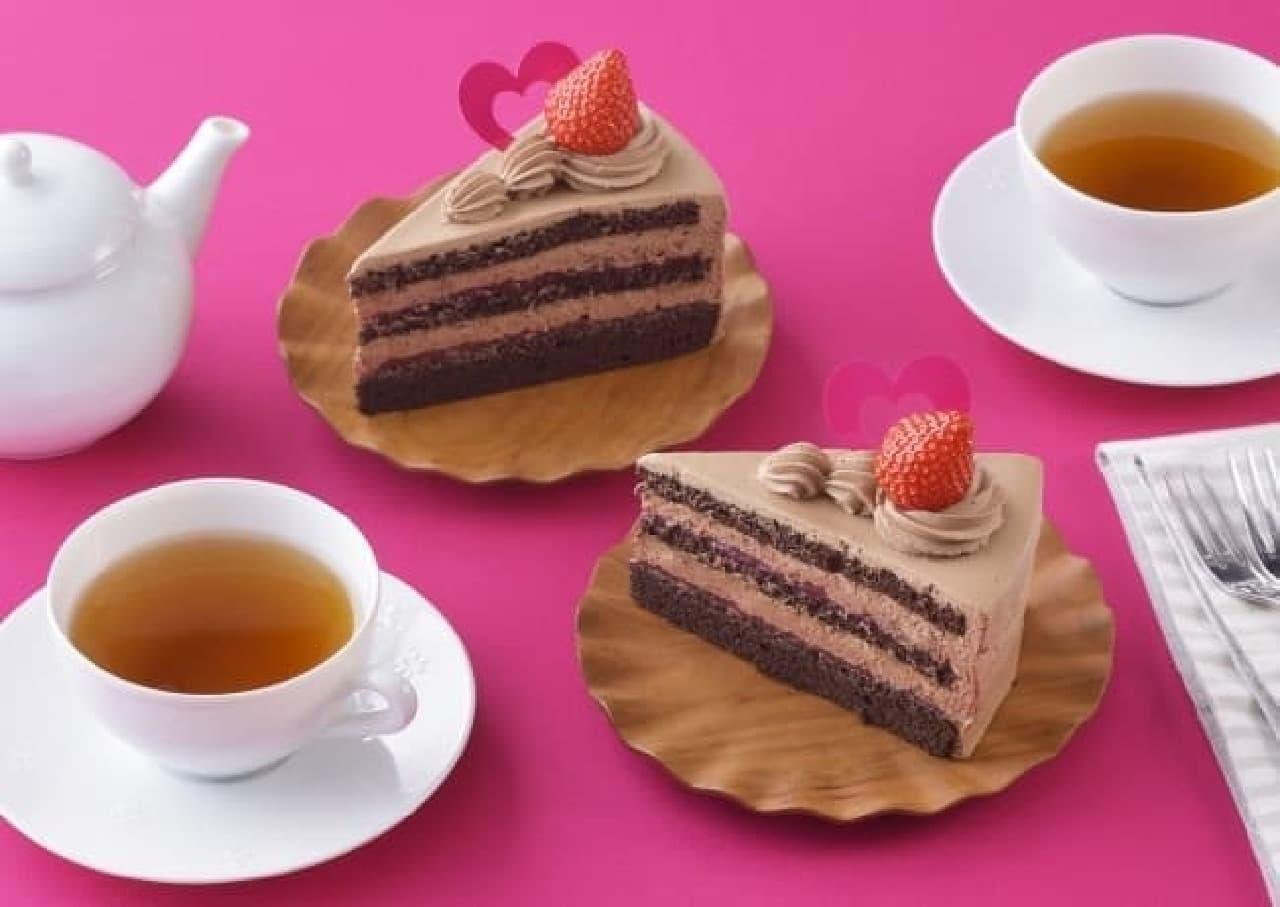 銀座コージーコーナー「大人の苺チョコショート」