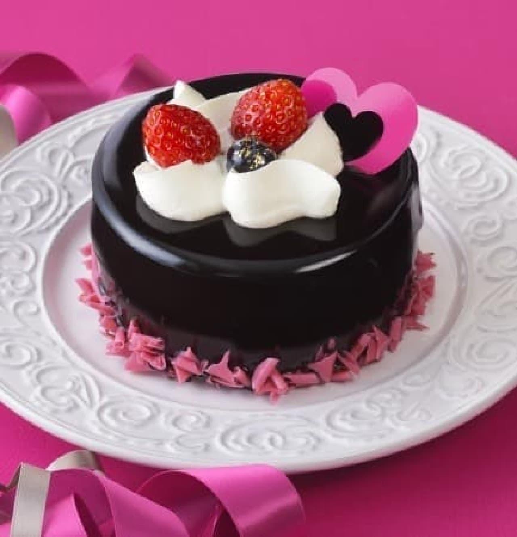 銀座コージーコーナー「苺とショコラのケーキ(3.5号)」