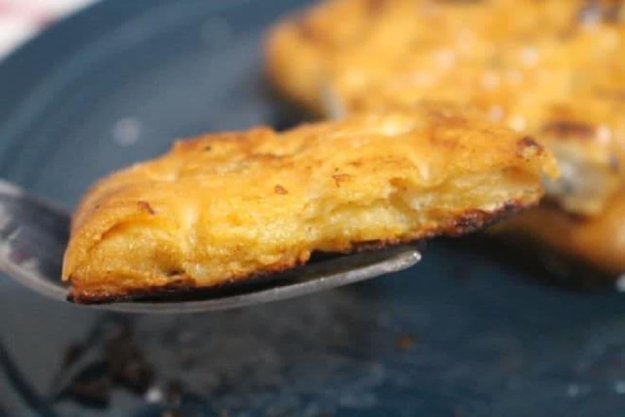 乾パンで作るフレンチトースト