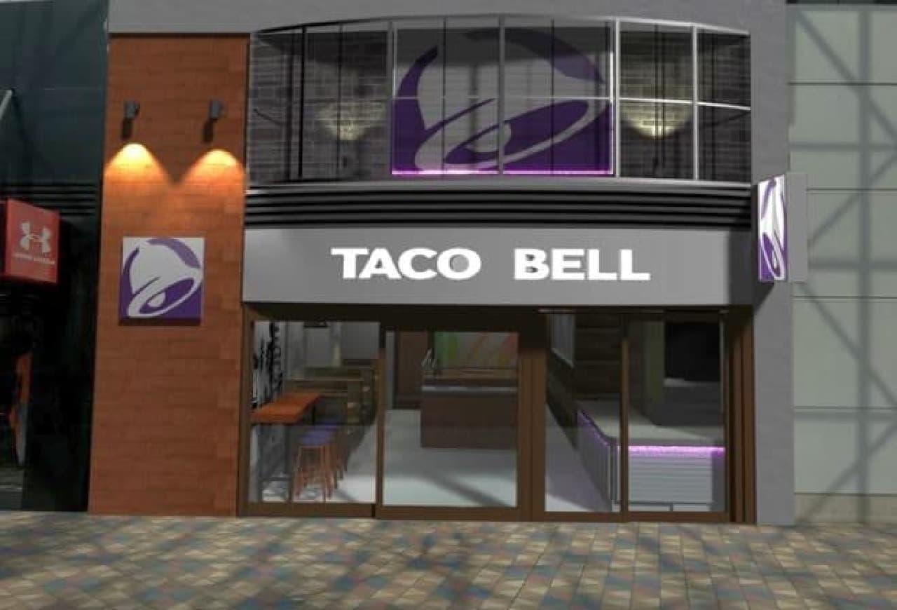 「TACO BELL(タコベル)」の日本7号店が東京ドームシティにオープン