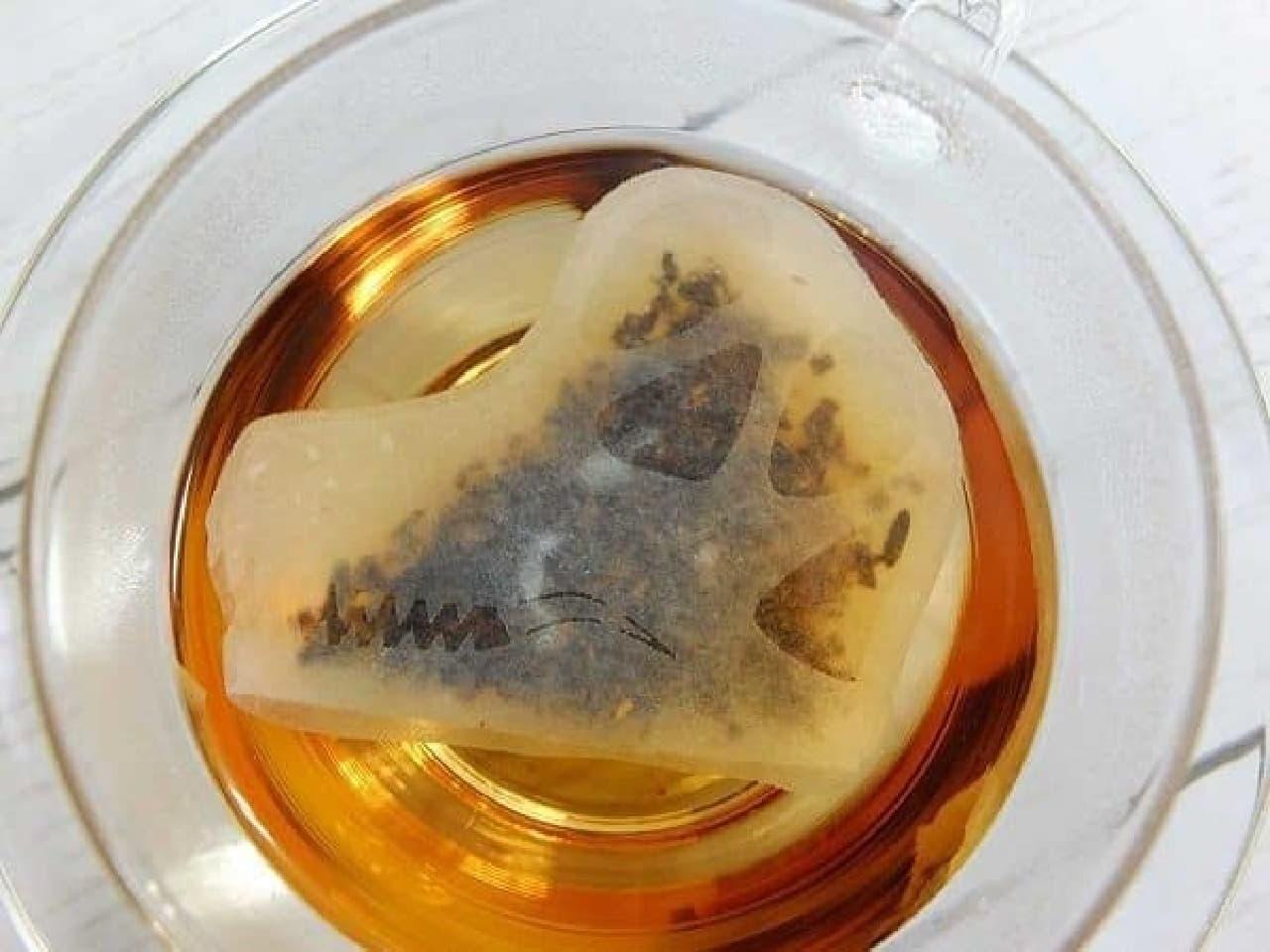 ocean-teabag 恐竜頭骨のティーバッグ(4種セット)