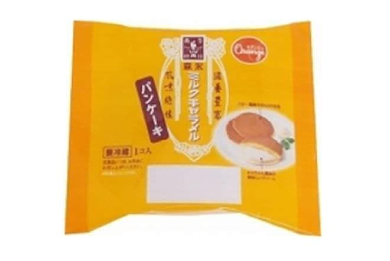 森永ミルクキャラメルとのコラボ商品「森永ミルクキャラメルのパンケーキ」