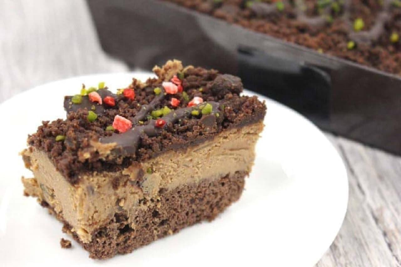 成城石井 3種ドライフルーツのショコラベリープレミアムチーズケーキ